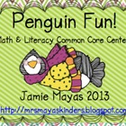 Penguin Fun! {Math & Literacy Common Core Centers}