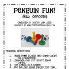Penguin Fun with Opposites