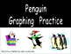 Penguin Graphing Practice for Kindergarten