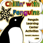 Penguin Learning Centers - Penguin Activities - Chillin' w