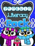 Penguin Literacy Pack & Craftivity Project (ELA Common Cor
