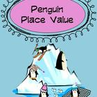 Penguin Place Value Math Center