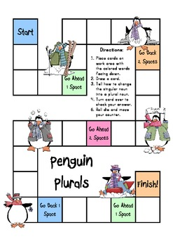 Penguin Plurals - Exploring Plural Nouns with Game