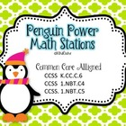 Penguin Power Common Core Aligned Math Stations