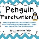 Penguin Punctuation & Sentence Scramble
