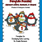 Penguin Puzzles ~ Alphabet, Colors, Numbers, and Shapes