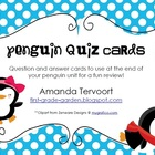 Penguin Quiz Cards