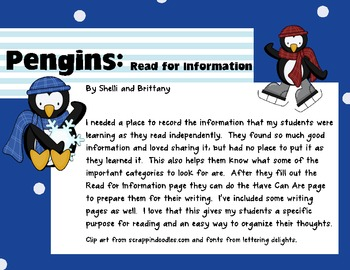 Penguin: Read for Information