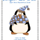 Penguin Sight Word ABC Order