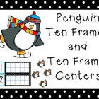Penguin Ten Frame Center