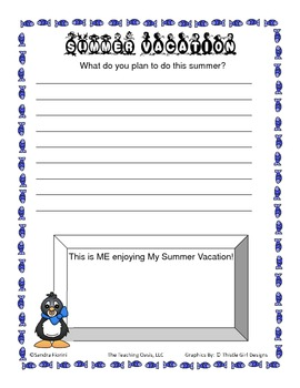 Penguin Themed Memory Book