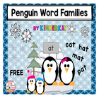 Penguin Word Families Sorting Mats and Word Cards