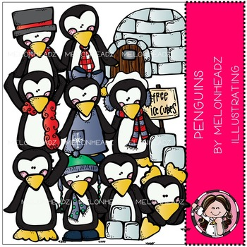 Penguin bundle by melonheadz