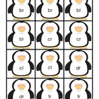 Penguins Beginning Blends Memory Game