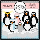 Penguins {Graphics for Commercial Use}