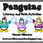 Penguins Literacy and Math Activities