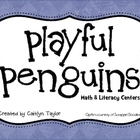 Penguins Math &amp; Literacy Centers