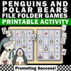 Penguins & Polar Bears Independent Work Tasks for Autism