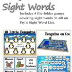 Penguin's Sight Words