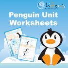 Penguins Unit Cross Curricular Worksheets for Young Students