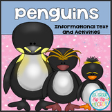 Penguins...Dive into Informational Text, Reporting, Word W