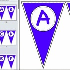 Pennant Letters BLUE