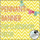 Pennant Welcome Banner - Chevron - FREE
