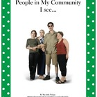 People in My Community!  (Vocabulary development)