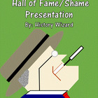 People of the 1930s Hall of Fame/Shame Presentation