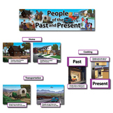 People of the Past and Present Mini Bulletin Board Set