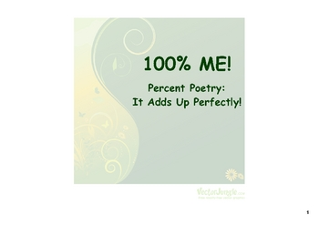Percent Poetry for the SMARTboard