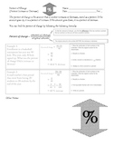 Percent of Change: Percent Increase and Decrease Notes and