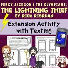 Percy Jackson and Olympians Sending Text Messages Activities