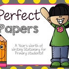 Perfect Papers-Writing Stationary for Primary Students