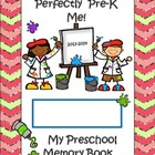 Perfectly Pre-K Me! Year End Memory Book!