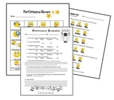 Performance Evaluation Pack for Music Class