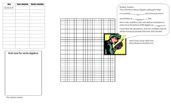 Performance Task Assessment: Multistep Equations for Algebra 1