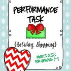 Performance Task {Holiday Shopping}