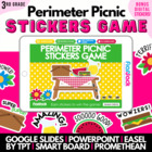 Perimeter Picnic SMART BOARD Game - Common Core Aligned