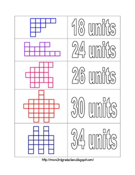 Perimeter Sorting Activity - Perfect for centers!