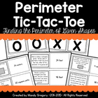Perimeter Tic-Tac-Toe Partner Math Game