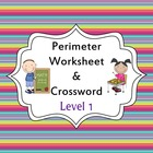 Perimeter Worksheet and Activity - Level 1