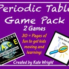 Periodic Table Game Pack