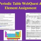 Periodic Table WebQuest and Element Assignment
