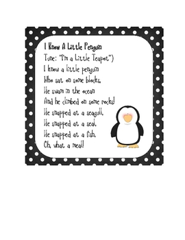 Perky Penguins Multidisciplinary Thematic Unit