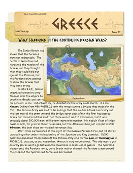 Persian Wars Continue with Athens & Sparta: Greece by Don Nelson