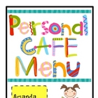 Personal CAFE Menu!