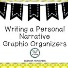 Personal Narrative Graphic Organizer by The Teacher&#039;s Work Room