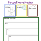 Personal Narrative Writing Map