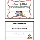 Personal Narrative Writing Mini Book Activity - A Time I Got Hurt